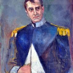 Actorul Mircea Șeptilici, ulei pe pânză, 92 × 72 cm, 1959