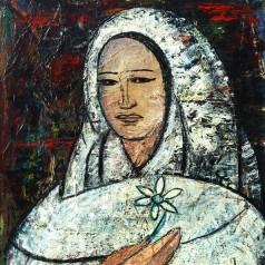 3 Primavara, ulei pe panza, 70x50 cm, 1968