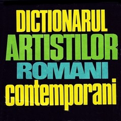 1976 Dictionarul Artistilor Romani Contemporani cover