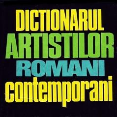 1976 Dictionarul Artistilor Romani Contemporani cover
